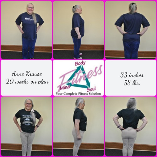 Mind Body & Soul Fitness - Anne Kraus - 20 Weeks