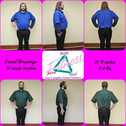 Mind Body & Soul Fitness - Daniel Breuninger - 36 Weeks