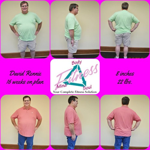 Mind Body & Soul Fitness - David Rennie - 16 Weeks