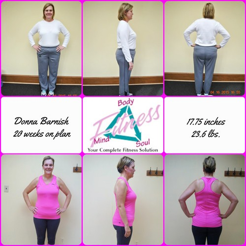 Mind Body & Soul Fitness - Donna Barnish - 20 Weeks