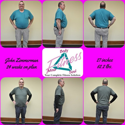 Mind Body & Soul Fitness - John Zimmerman - 24 Weeks