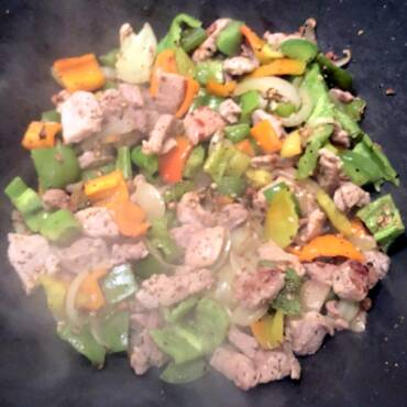 Pepper Pork Stir Fry