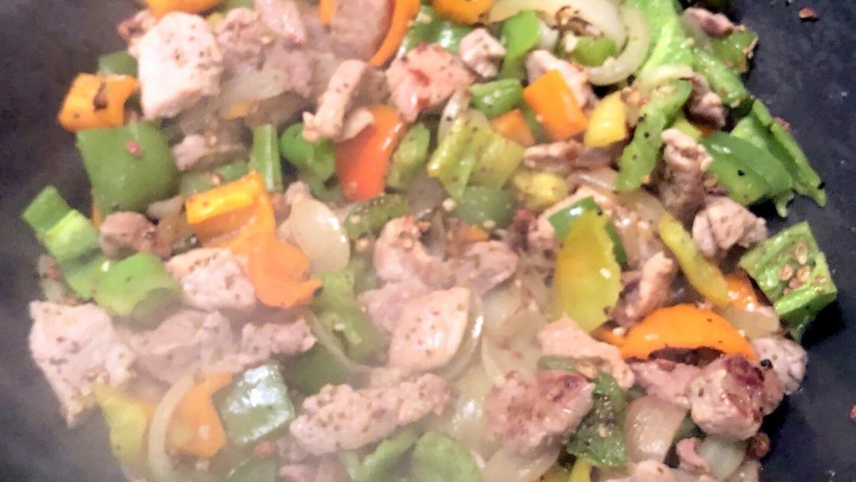 Pepper Pork Stir Fry