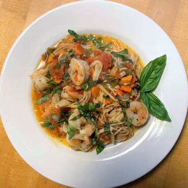 Shrimp with Tomato and Fennel